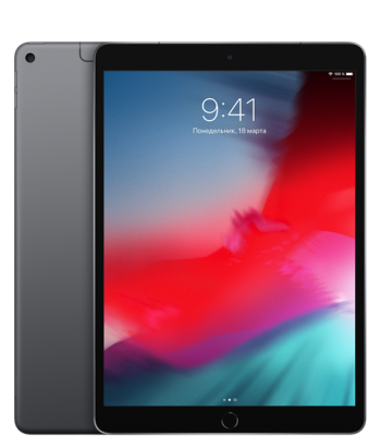 Планшет iPad Air 10,5 256гб Space Gray LTE (черный цвет)