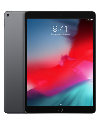 Планшет iPad Air 10,5 64гб Space Gray Wi-Fi (черный цвет)