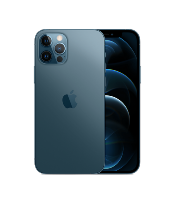 Смартфон iPhone 12 Pro Max 128гб Pacific Blue (синий цвет) Новый