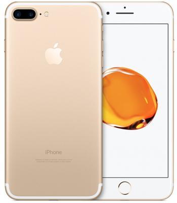 Смартфон iPhone 7+ 128гб Gold (золотой цвет) «Как новый»