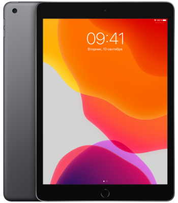 Планшет iPad 10,2 128гб Space Gray (черный цвет) Wi-Fi