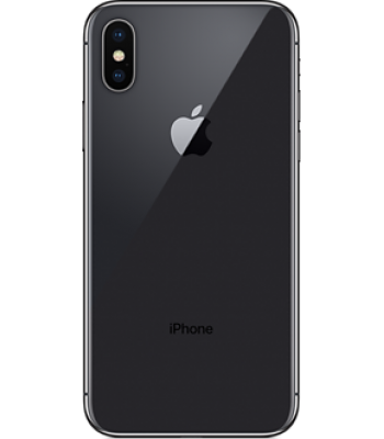Смартфон iPhone X 64гб Space Gray (черный цвет) «Как новый»