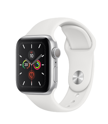 Смарт-часы Apple Watch S5 40мм White Sport Band (белые)