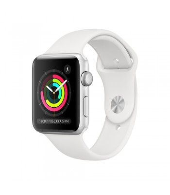 Смарт-часы Apple Watch S3 38мм wWhite Sport Band (белые)