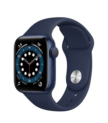 Смарт-часы Apple Watch S6 44мм Blue Sport Band (синие)
