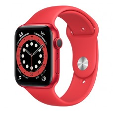 Watch S6 44мм Red Aluminum Case with Red Sport Band Официальные