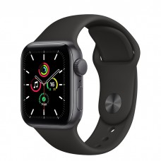 Watch SE 40мм Space Gray Aluminum Case with Black Sport Band Официальные
