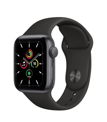 Смарт-часы Apple Watch SE 40мм Black Sport Band (чёрные)