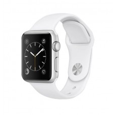 Watch S1 Silver Aluminum Case with White Sport Band 38мм