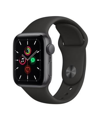 Смарт-часы Apple Watch SE 44мм Black Sport Band (чёрные)