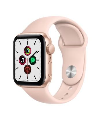 Смарт-часы Apple Watch SE 44мм Pink Sand Sport Band (розовые)